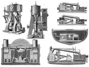 19th Century Marine Steam Engines by Sheila Terry