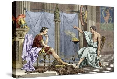 Alexander of Macedon And Aristotle