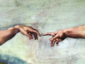 Creation of Adam by Sheila Terry
