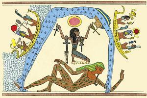 Egyptian Creation Myth by Sheila Terry