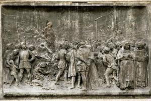 Giordano Bruno's Execution by Sheila Terry