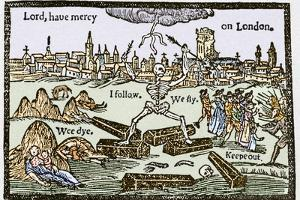 Plague In London, 1625 by Sheila Terry