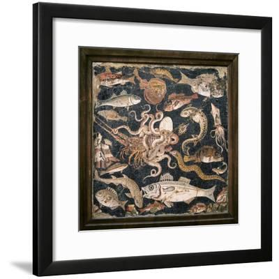 Roman Seafood Mosaic