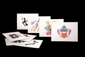 Rorshach Inkblot Test by Sheila Terry