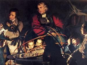 The Orrery by Joseph Wright by Sheila Terry