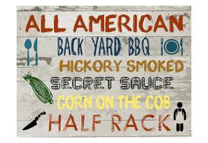 American BBQ Board by Sheldon Lewis