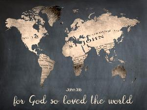 For God So Loved The World by Sheldon Lewis
