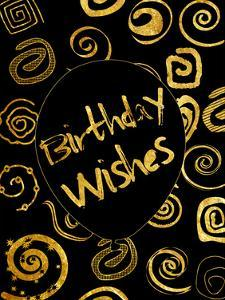 Golden Birthday Wishes by Sheldon Lewis