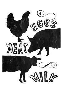 Local Eggs Meat Milk by Sheldon Lewis