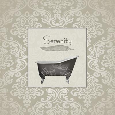Serenity Tub by Sheldon Lewis