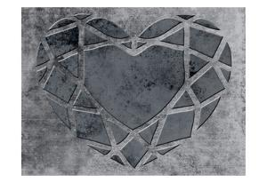 Transitional Geo Heart by Sheldon Lewis