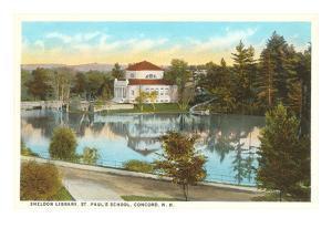 Sheldon Library, St. Paul's School, Concord, New Hampshire