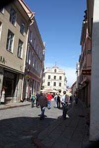 Street Scene, Tallin, Estonia, 2011 by Sheldon Marshall
