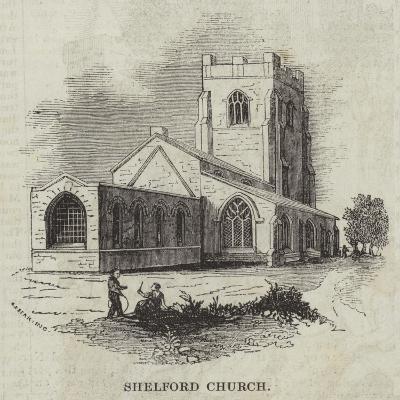 Shelford Church--Giclee Print