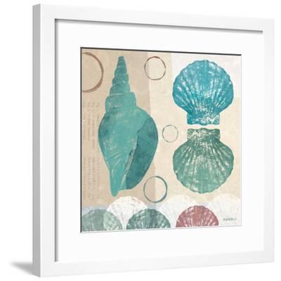 Shell Collage II-Dan Meneely-Framed Art Print