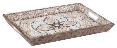 Shell Mosaic Serving Tray--Home Accessories