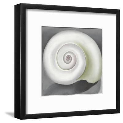 Shell No. I, 1928-Georgia O'Keeffe-Framed Art Print
