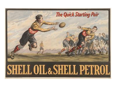 Shell Oil & Shell Petrol--Art Print