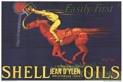 Shell Oils-Easily First!-Jean D'Ylen-Collectable Print