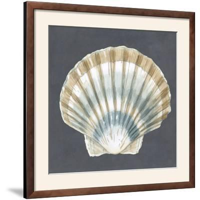 Shell on Slate III-Megan Meagher-Framed Photographic Print