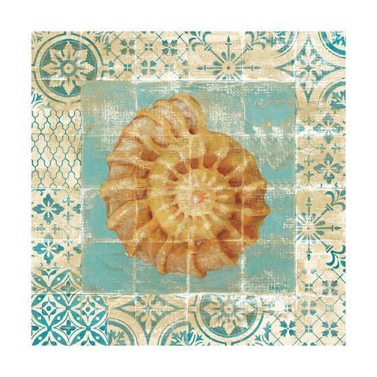 Shell Tiles I Blue-Danhui Nai-Premium Giclee Print