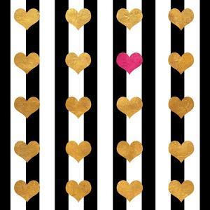 Single Pink Heart by Shelley Lake