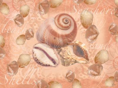 Shells on Shore-Bee Sturgis-Art Print