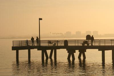 Shelter Island, San Diego Bay, California, USA-Peter Bennett-Photographic Print