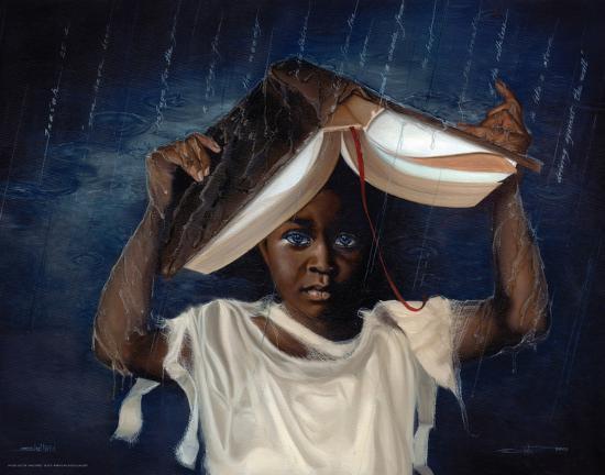 Sheltered-Edwin Lester-Art Print