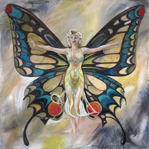 Marilyn: Butterfly by Shen