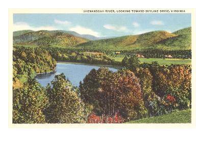 Shenandoah River, Virginia--Art Print