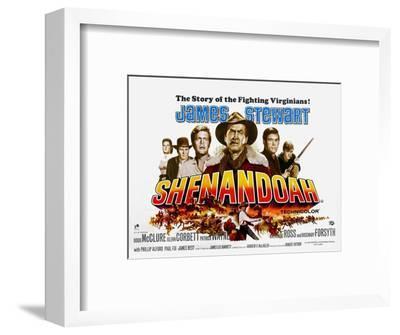 Shenandoah, UK Movie Poster, 1965
