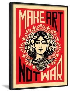 Make Art Not War by Shepard Fairey