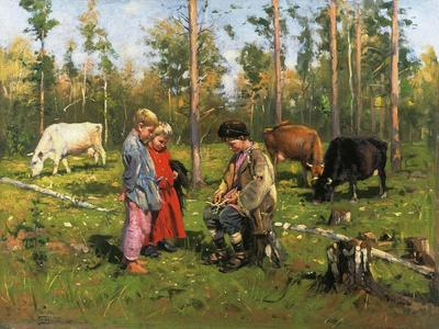 Shepherd Boys, 1903-1904--Giclee Print