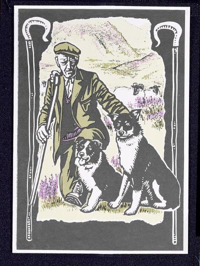 Shepherd Laddie O' the Hills, 1997-Karen Cater-Giclee Print