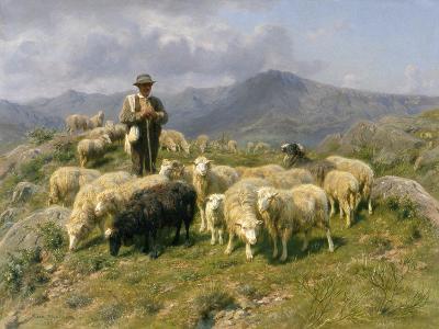 Shepherd of the Pyrenees, 1888-Rosa Bonheur-Giclee Print