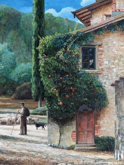 Shepherd, Peralta, Tuscany, 2001-Trevor Neal-Giclee Print