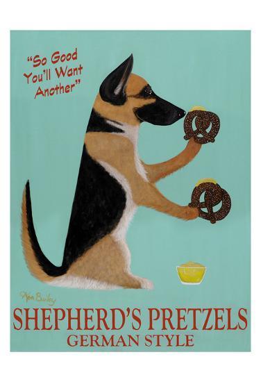 Shepherd's Pretzels-Ken Bailey-Limited Edition