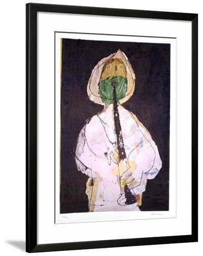 Shepherd with Green Beard-Slavko Kopac-Limited Edition Framed Print