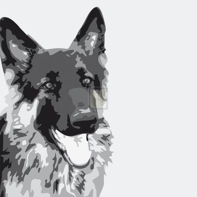 Shepherd-Emily Burrowes-Art Print