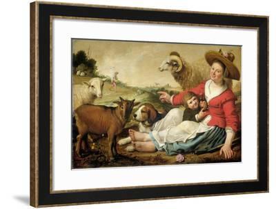Shepherdess-Jacob Gerritsz Cuyp-Framed Art Print