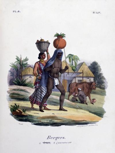 Shepherds, 1828- Marlet et Cie-Giclee Print