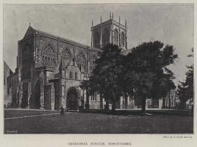 Sherborne Minster, Dorsetshire--Giclee Print