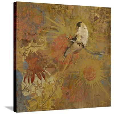 Sheri'S Goldfinch--Stretched Canvas Print
