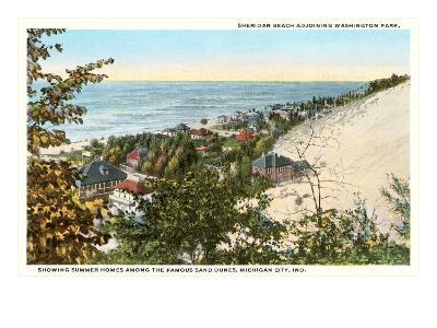 Sheridan Beach, Michigan City, Indiana--Art Print
