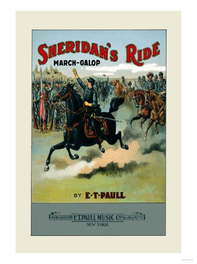 Sheridan's Ride: March-Galop--Art Print