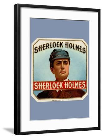 Sherlock Holmes Cigars--Framed Art Print