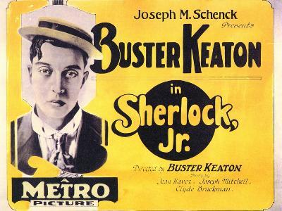 Sherlock, Jr., 1924--Art Print
