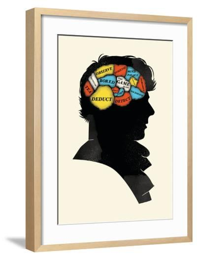 Sherlock-Chris Wharton-Framed Art Print