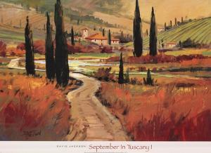 September In Tuscany I by Sherly Jackson